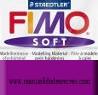 Pastilla Fimo Nº63 Violeta - fimo soft, Pastilla de 56g Nº 63 Violeta