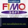 Pastilla Fimo Nº9 Negro - fimo soft, Pastilla de 56g Nº 9 Negro