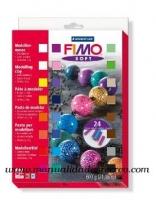 Pasta Fimo 24 colores - Caja surtida de 24 colores de fimo, 25g