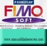 Pastilla Fimo Nº39 Turquesa - fimo soft, Pastilla de 56g Nº 39 turquesa