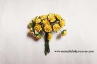 Rosas Amarillas  - Juego de 20 rosas amarillas