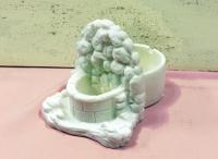 Fuente de marmolina -