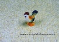 Gallina en miniatura