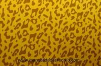 Goma eva, Leopardo - Goma eva estampada, laminas de 48 x 35