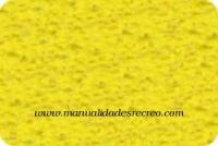 Goma eva toalla, Amarilla - Goma eva toalla, color amarilla. 60cm x 45cm