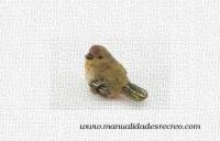 Gorrión en miniatura - Gorrión o pájaro en miniatura.