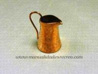 Jarra de cobre 02 - Jarra de cobre martele 3cm