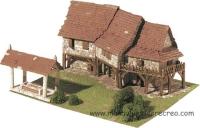 Maqueta de construcción de ladrillos, Aldea - Kit de construcción de casitas de ladrillos, Aldea