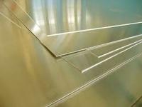 Lámina de aluminio color latón 40cm x 30cm