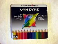 Lápices Acuarelables 24 colores -