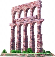 Maqueta de acueducto de Segovia