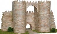 Puerta del Alcázar, Muralla Avila - Maqueta de muralla de Ávila