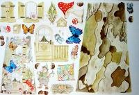 Papel para tejas Mariposas -