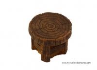 Mesa de madera redonda - Mesa de madera redonda