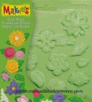 Molde flores -