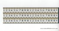 Azulejos con números para fachadas
