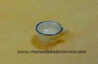 Orinal en miniatura - Orinal de cerámica en miniatura