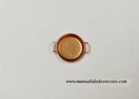 Paellera de cobre