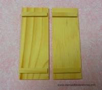 Puertas de madera natural - Dos puertas de madera