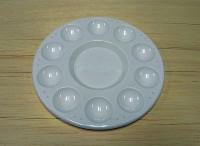 Paleta circular 10 pocillos -