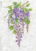 Papel de arroz ramo de lilas - Papel de arroz de lilas
