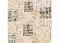 Papel de arroz DFT179 Música - Papel decoupage notas musicales
