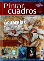 Revista Pintar cuadros, Acuarelas sobre seda - Revista de pintar cuadros, Acuarela en seda