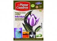 Revista de pintar cuadros, tulipán -