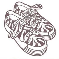 Plantilla starcir, Zapatillas 25cm x 23cm