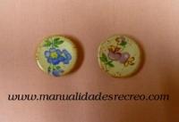 Platos de cerámica pintados