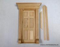 Puertas ratoncito Pérez para pintar con copete