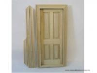 Puerta de madera natural - Puerta de madera natural