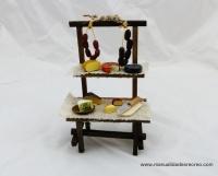 Puesto de embutido y queso - Puesto de venta de embutido y quesos