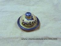 Quesera de cerámica