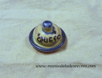 Quesera de cerámica - Quesera de barro esmaltado