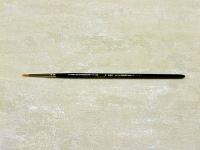 Pincel redondo pelo sintético nº 0/2 - Pincel redondo sintético para manualidades y pintura.