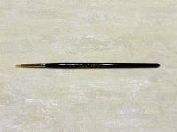 Pincel redondo pelo sintético nº 0/3 - Pincel redondo sintético para manualidades y pintura.