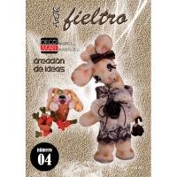 Revista arte fieltro Nº 4 - Revista de fieltro Nº 4