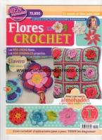Revista Crochet N 1 - Revista de flores en crochet numero 1
