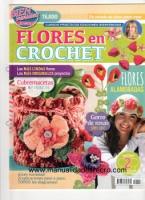 Revista Crochet N 2 - Revista de flores en crochet numero 2