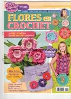 Revista Crochet N 3 - Revista de flores en crochet numero 3