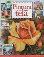 Revista de pintura sobre tela 2013. Nº8 - Pintar tela colección 2013, Nº 1 Rosa Rosada