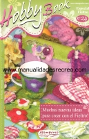Revista de fieltro, hobby book - Revista de Fieltro