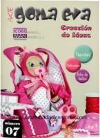 Revista de goma eva Fofuchas Nº 7 - Revista De Goma Eva, Fofuchas Nº 7