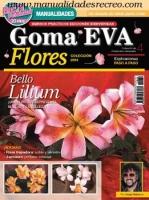 Revista flores de goma eva, 2014 Nº 4 - Revista de flores con goma eva, nº 4 del 2014