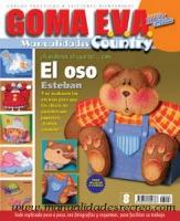 Revista goma eva, El oso