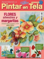 Revista aprendiendo a pintar tela, Nº3 Flores - Revista para aprender a pintar tela