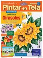 Revista aprendiendo a pintar tela, Nº2 Girasoles