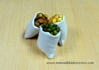 Sacos de legumbres - Sacos de legumbres en miniatura