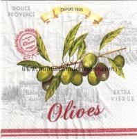 Paquete de servilletas, Olives - Paquete servilletas, Olives